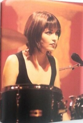 The CORRS 'drum & Mic' Magazine PHOTO/Poster/clipping 11x8 Inches • 5.95£