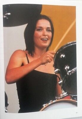 The CORRS 'drum Stick' Magazine PHOTO/Poster/clipping 11x8 Inches • 5.95£