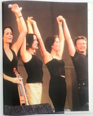 The CORRS 'group Encore' Magazine PHOTO/Poster/clipping 11x8 Inches • 5.95£