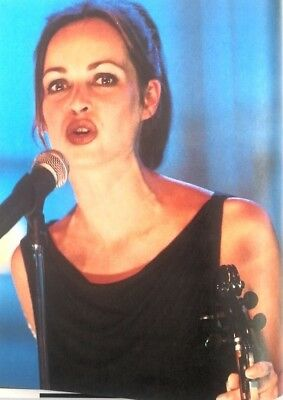 The CORRS 'lips' Magazine PHOTO/Poster/clipping 11x8 Inches • 5.95£