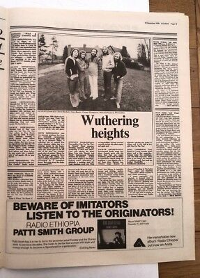 GENESIS Wind & Wuthering Album Review 1976  UK ARTICLE / Clipping • 9.95£
