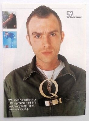 BLUR 'Damian Bruised And Battered ' Magazine PHOTO/Poster/clipping 11x8 Inches • 5.95£
