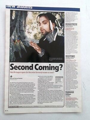 PRINCE 'Joy Fantastic' Album Review UK ARTICLE / Clipping • 9.95£