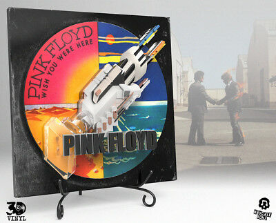 Pink Floyd (Wish You Were Here) 3D Vinyl™ Direct From Knucklebonz • 178.10£