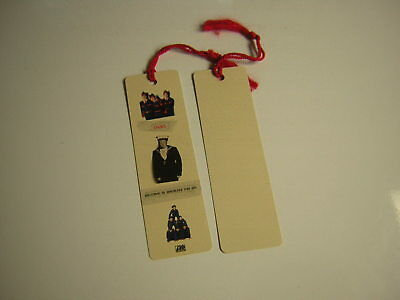 Inxs Promo Book Mark 1992 Welcome To Wherever You Are Michael Hutchence • 13.30£