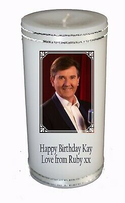 Any Occasion   Daniel O Donnell  Candle With Your Own Personalised Message • 13.99£