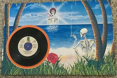 Grateful Dead Vinyl 45 Record The Music Never Stopped Promotional Copy Picture • 23.69£