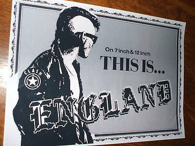 The Clash 'This Is England' Poster • 7.99£