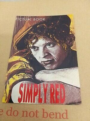 Simply Red Picture Book Promotional Postcard Good Condition Unposted  • 3.99£