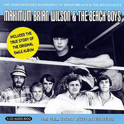 BEACH BOYS & BRIAN WILSON New Sealed COMPLETE BIOGRAPHY & INTERVIEWS CD • 15.44£