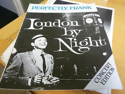 Frank Sinatra - Perfectly Frank - Issue 163 October 1980 - Concert Edition • 7.99£