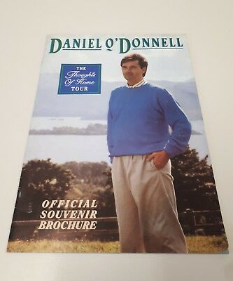 Daniel O ' Donnell The Thoughts Of Home Tour Programme 1989  • 12£