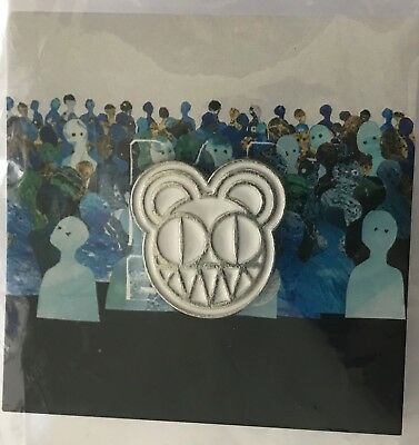 Radiohead Pin 2018 Tour Modified Bear White Lapel Pin • 18.32£