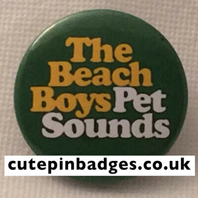 Beach Boys Badge - 5 Sizes 25mm To 77mm Pin Button Pet Sounds Brian Wilson Psych • 1.35£