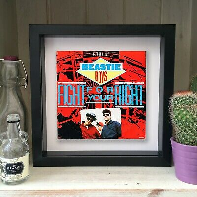 Beastie Boys - You Gotta Fight For Your Right - Framed Artwork Picture Sleeve 19 • 19.99£