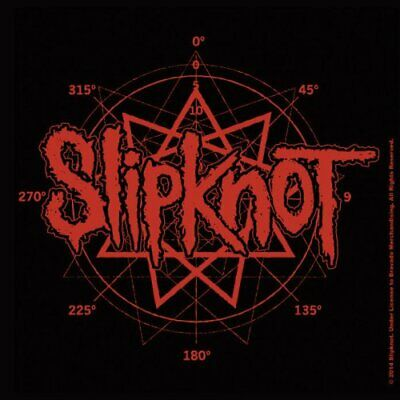 SLIPKNOT - NONAGRAM LOGO CORK DRINKS COASTER. Brand New. We Are Not Your Kind. • 2.75£
