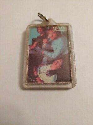 Nirvana Keychain With Band Pic, 1992-1993. EXTREMELY RARE!!! • 524.40£