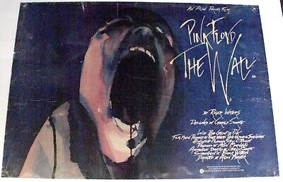 Pink Floyd The Wall Original Movie Poster • 80£