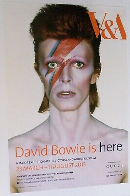 David Bowie Original V & A Exhibition 2013 Poster • 130£