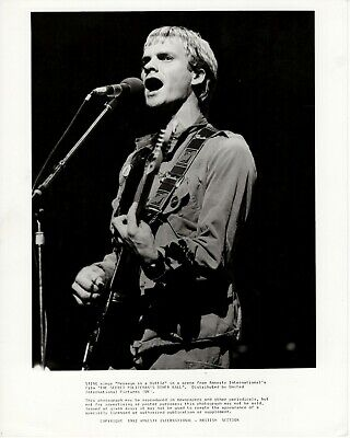 Sting Original 10  X 8  Promo Photo From The Secret Policeman's Ball 1982 • 40£