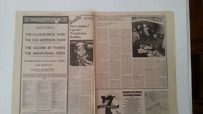 ELTON JOHN 'reviews The Singles' 1974 2 Page UK ARTICLE / Clipping • 11.95£