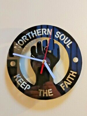 Northern Soul Wall Clock • 19.95£