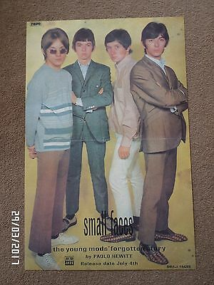 Small Faces The Young Mods Forgotten Story Original 1995 Promo Poster. • 9.99£