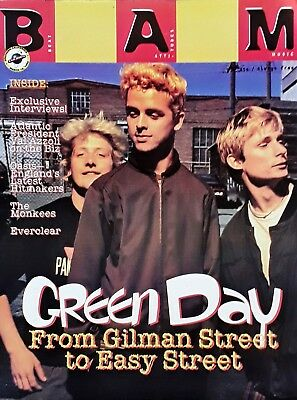 Green Day- Cover Story - Bam Magazine - March 10th, 1995 • 7.86£