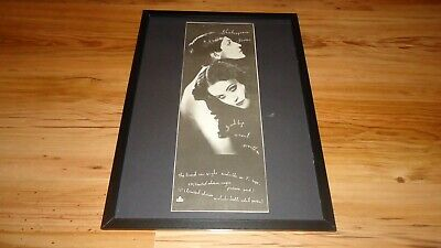 SHAKESPEARS SISTER-framed Original Poster Sized Advert • 35£