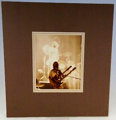 Genesis Photo 10x8 Colour Fan Photo New York 1977 Mounted (not Framed)  • 20£
