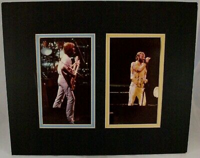 Genesis 10x8 Colour Fan Photos New York 1977 Mounted (not Framed)  • 20£