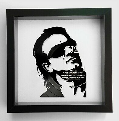U2 - Pride (In The Name Of Love) - Bono Vinyl Record Art 1984 • 59.99£