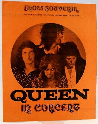 Queen Vintage Original Programme Queen II UK Tour 1974 Very Good++ • 340£