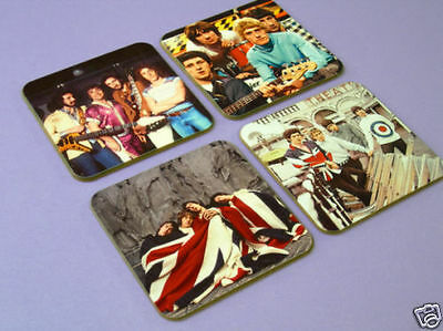 The Who Roger Daltrey Colour COASTER Set • 8.99£