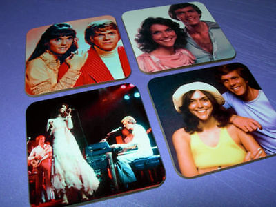 The Carpenters Drinks COASTER Set • 8.99£