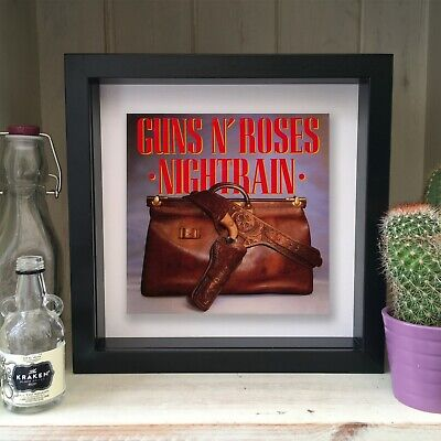 Guns N Roses - Nightrain - Framed Artwork Picture Sleeve 1989 • 19.99£