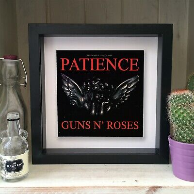 Guns N Roses - Patience - Framed Artwork Picture Sleeve 1989 • 19.99£