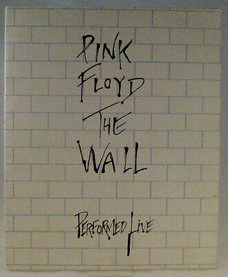 Pink Floyd Programme Vintage The Wall Performed Live Tour 1980 • 40£
