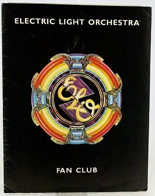 ELO Fan Club Lot Folder Photo Membership Card Etc 1981 • 60£
