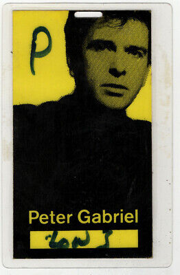Peter Gabriel Pass Vintage So Tour 1987 • 15£