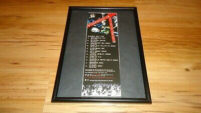 STEREOPHONICS 2007 Tour-framed Original Advert • 11.99£