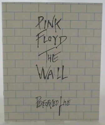 Pink Floyd Programme The Wall Performed Live 1980 • 90£