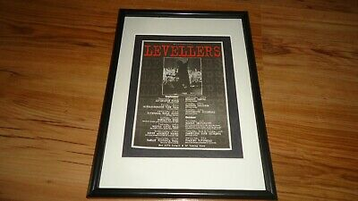 LEVELLERS 1996 Tour-framed Original Advert • 11.99£