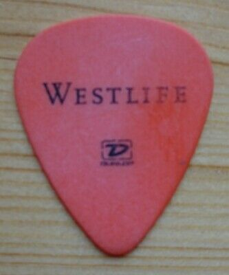 Westlife Guitar Pick Plectrum Genuine Used By The Band Rare Hurry Last Few! • 5£