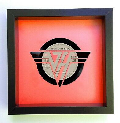 Van Halen - Running With The Devil - Vinyl Record Art 1980 • 59.99£