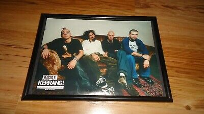 SYSTEM OF A DOWN-Framed Picture • 11.99£