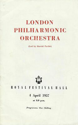 London Philharmonic Orchestra 1957 Programme - Vronsky And Babin • 4.99£