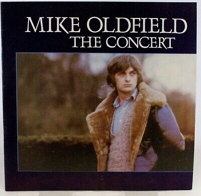 Mike Oldfield Programme The Concert 1980 • 10£