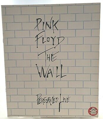 Pink Floyd Programme Vintage The Wall Performed Live 1980 • 60£