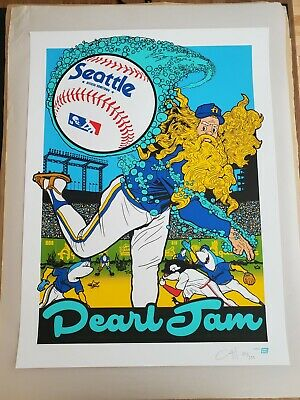 Pearl Jam Poster Print Seattle 2018 Home Shows Ames AP Edition Limited S/N  • 107.19£